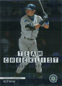 Donruss Team Checklist Career Statline /27