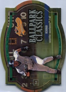 Fleer Authentix Ballpark Classics Die Cut