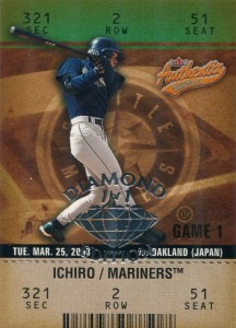 Fleer Authentix Row 2 Diamond Edition 1/1