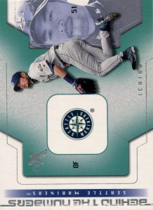 Fleer E-X Behind the Numbers