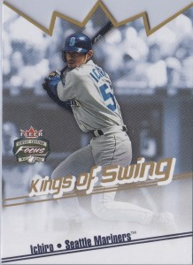 Fleer Focus Jersey Edition Kings of Swing Die Cut