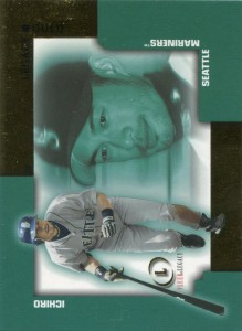 Fleer Legacy Gold Oversize Proof