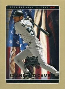 Fleer National Pastime Grand Old Gamers Oversize Proof