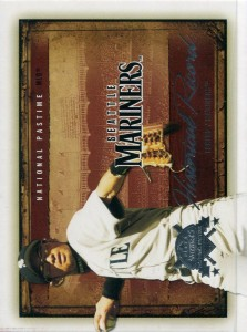 Fleer National Pastime Historical Record Oversize Proof