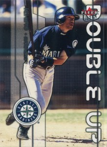Fleer Ultra Double Up w Hideo Nomo Oversize Proof