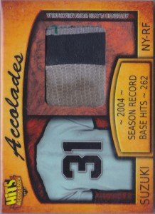 Hits Accolades Game Used Glove /3