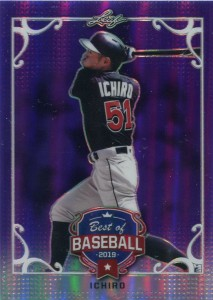 Leaf Best of Baseball Purple Refractor /25