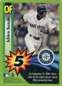 MLB Trade Up Game Card