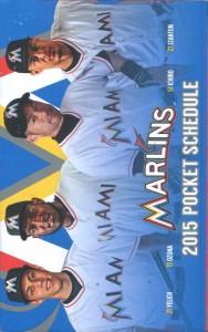 Marlins Pocket Schedule