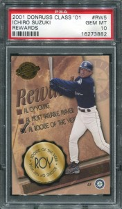 PSA 2001 Donruss Class of 2001 Rewards #5