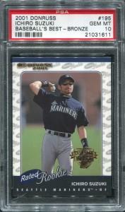 PSA 2001 Donruss RR Baseballs Best Bronze /999