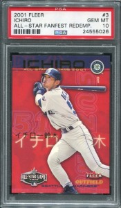 PSA 2001 Fleer All Star Fanfest Redemption
