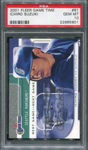 PSA 2001 Fleer Game Time /2000