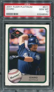 PSA 2001 Fleer Platinum #511