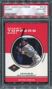 PSA 2001 Fleer Platinum Chart Toppers #416