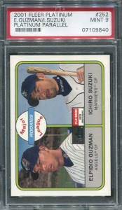 PSA 2001 Fleer Platinum #252 Platinum Parallel /21