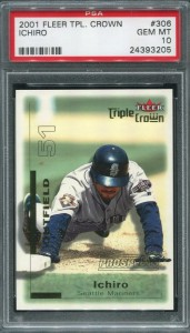 PSA 2001 Fleer Triple Crown /2999