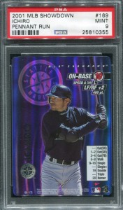 PSA 2001 MLB Showdown Pennant Run