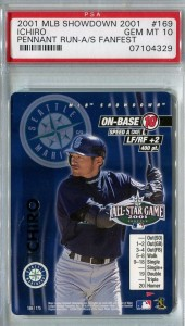 PSA 2001 MLB Showdown Pennant Run All Star Game Promo