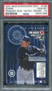 PSA 2001 MLB Showdown Pennant Run National Promo