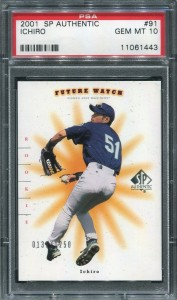 PSA 2001 SP Authentic /1250