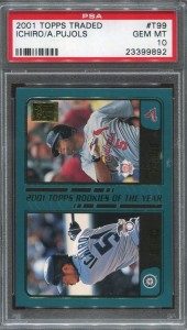 PSA 2001 Topps Traded ROY