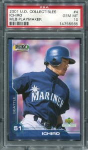 PSA 2001 UD Collectibles MLB Playmaker