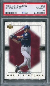 PSA 2001 Upper Deck Ovation /2000