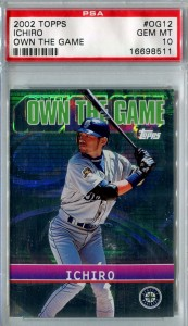 PSA 2002 Topps Own the Game OG12