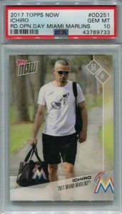 PSA 2017 Topps Now Road to Opening Day