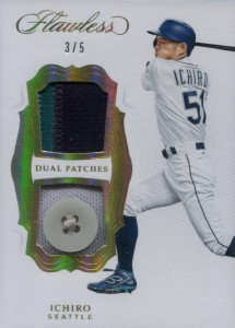 Panini Flawless Dual Patch with Button /5
