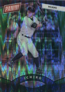 Panini National VIP Gold Pack Green Shimmer /5