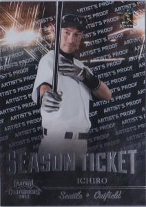 Playoff Contenders Season Ticket Artist's Proof /49