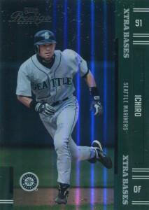 Playoff Prestige Green Xtra Bases /50