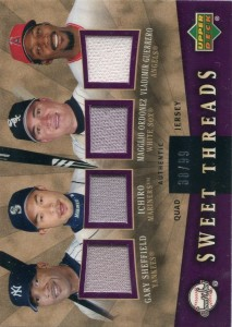 Sweet Spot Quad Jersey Relic /99