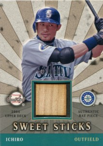 Sweet Spot Sweet Sticks Game Used Bat /199