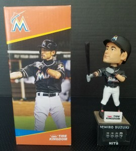 Tire Kingdom Hit Counter Bobblehead