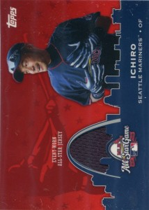 Topps All Star Game Stitches Relic