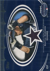 Topps All Star Stitches Relic