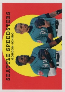 Topps Archives Seattle Speedsters