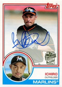 Topps Arhives Fan Favorites Autograph