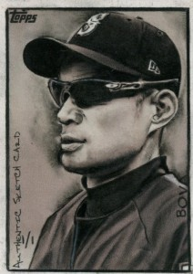 Topps Authentic Sketch Card 1/1