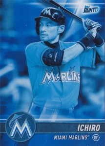 Topps Bunt Physical Blue