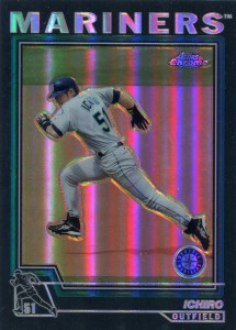 Topps Chrome Black Refractor