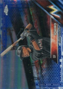 Topps Chrome Blue Refractor /150
