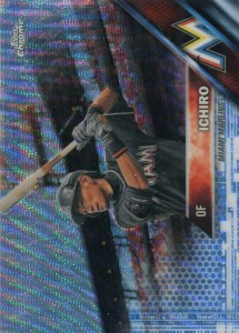 Topps Chrome Blue Wave /75