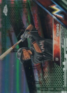 Topps Chrome Green Refractor /99