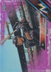 Topps Chrome Pink Refractor
