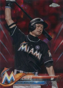 Topps Chrome Sapphire Red Refractor /10
