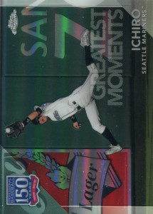 Topps Chrome Update 150 Years Greatest Moments